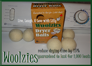 Woolzies, Dryer Balls, Review, Giveaway, LLLwithLilly