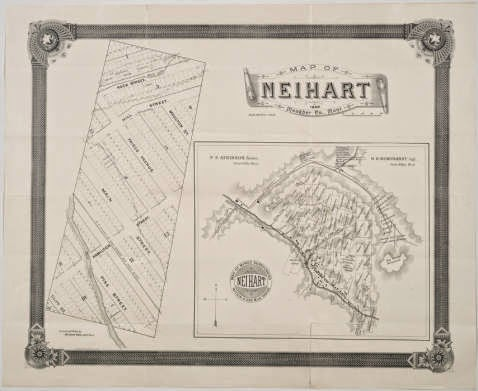 1890 Map of Neihart