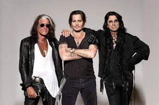 Joe Perry Johnny Depp Alice Cooper Hollywood Vampires