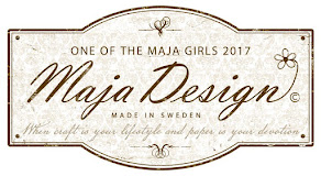 I'm thrilled to be a member of the 2017 Maja Creative Team!
