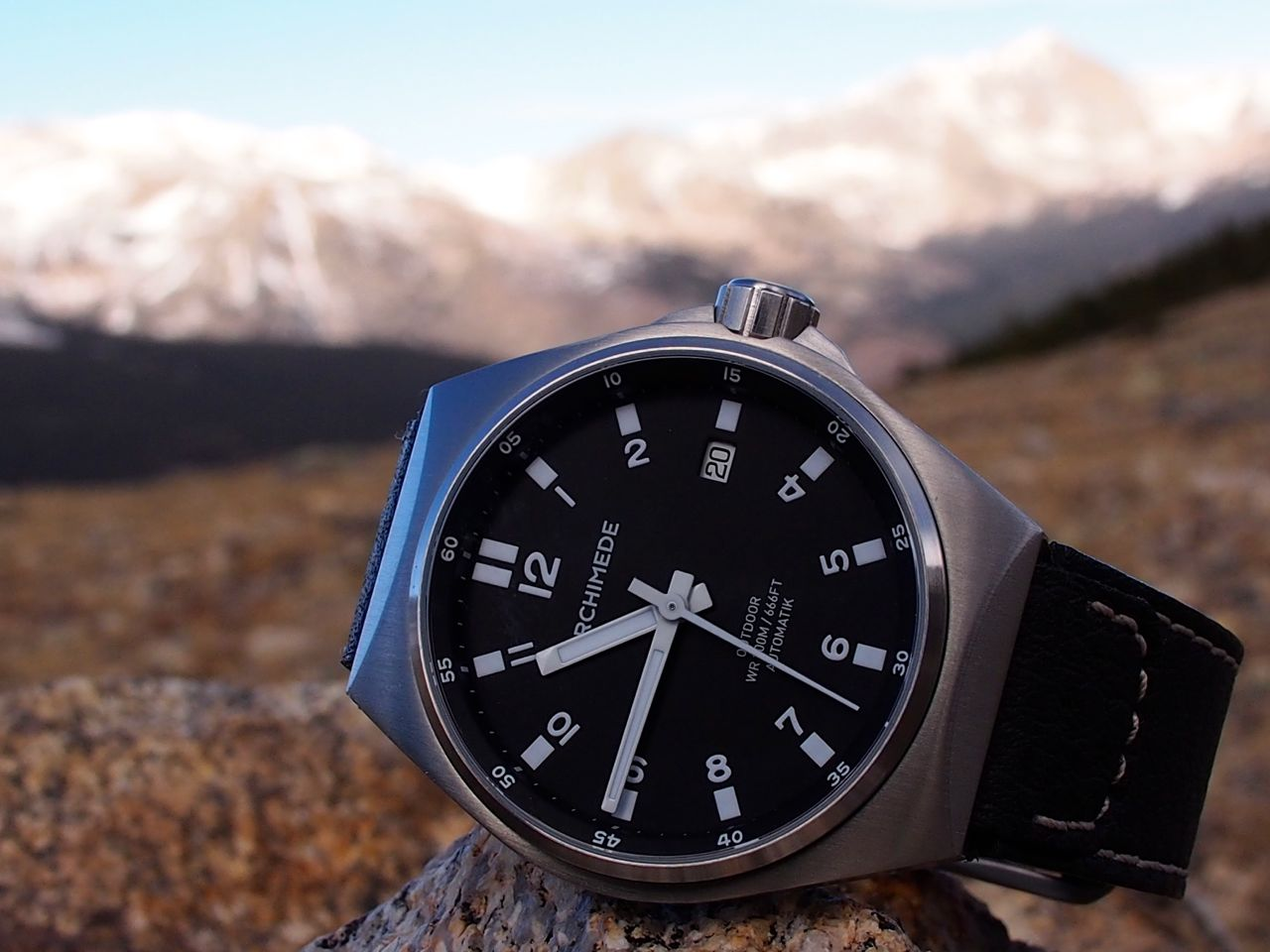 Review archimede outdoor watch robonza for Outdoor watches