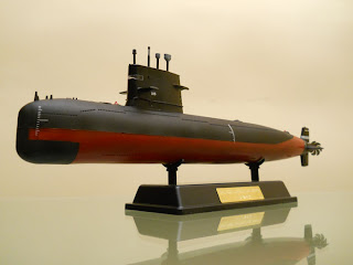 modelismo naval: submarino chino 039G1 clase Sung