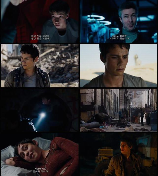 Maze Runner The Scorch Trials 2015 Dual Audio Hindi 480p HDRip