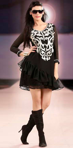 Festive Special Kurtis 2013 By Adaa Tunics For Girls She Styles Pakistani Designer Dresses