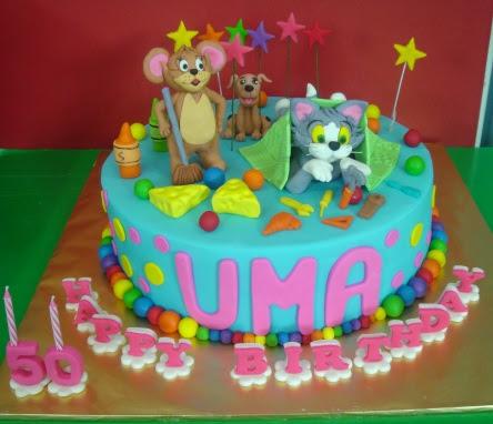 Yochanas Cake Delight Umas Birthday cake