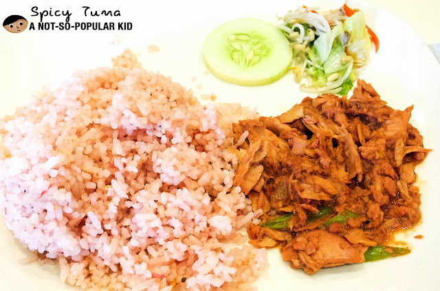 Tuna Sisig of Rice Taft Ave