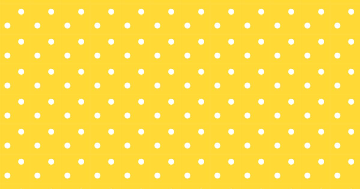 Yellow And Black Polka Dot Background Free polka dot ...