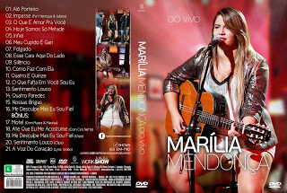 DVD Marília Mendonça – Ao Vivo(2015)