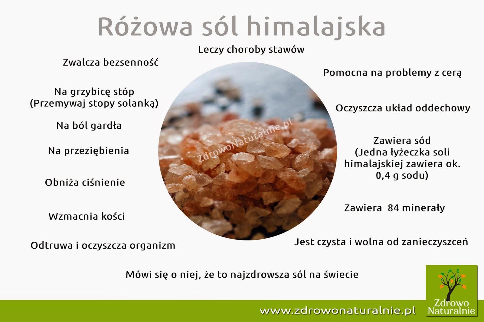 Najzdrowsza sól na świecie - różowa sól himalajska
