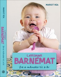 Lettlaget barnemat - best Norwegian Children and Family Cookbook 2011