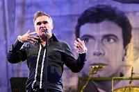 Ex-vocalista do The Smiths, Morrissey é um conhecido defensor do vegetarianismo e dos direitos dos animais