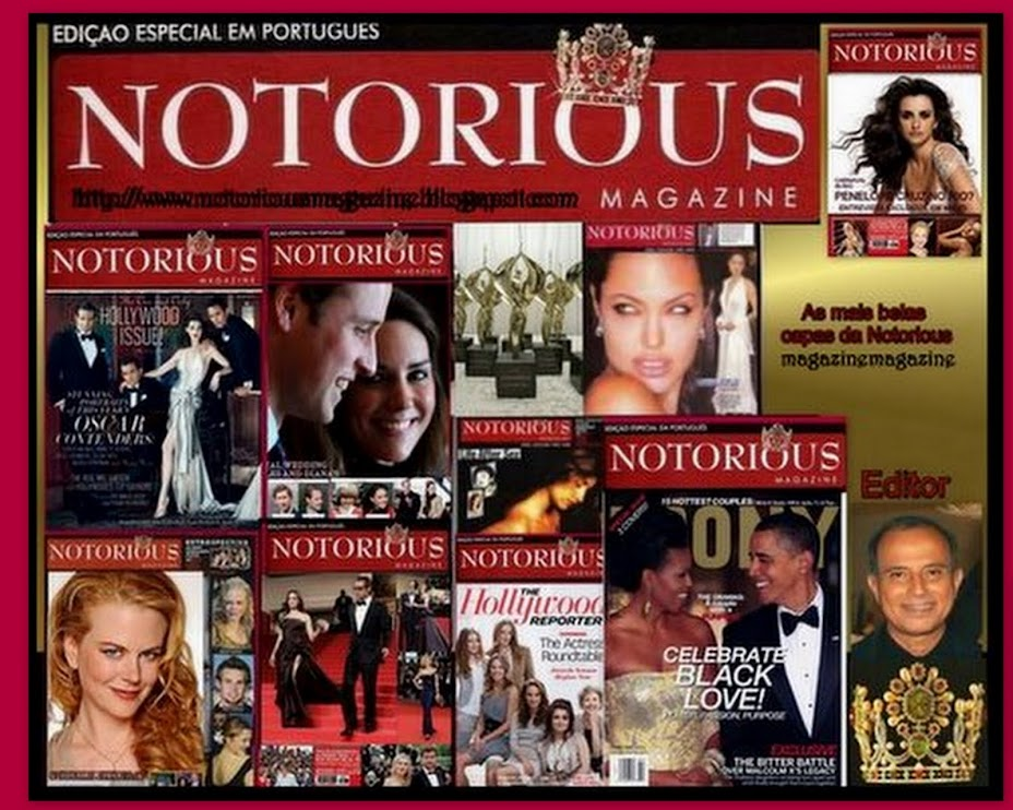 Notorious  Magazine by  VANDERLAN  NADER