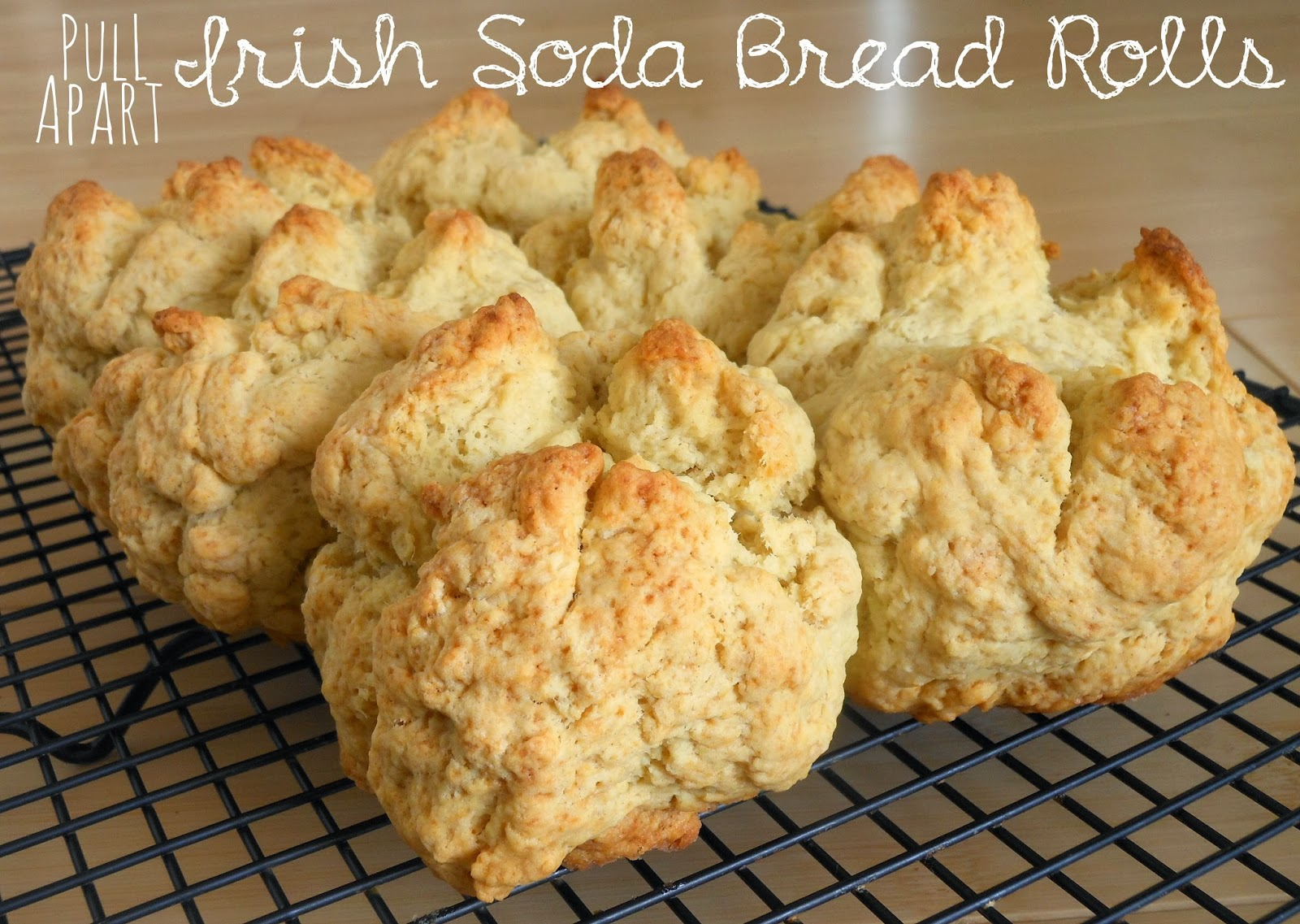 ... With My Loves - Adventures in Homemaking: Pull-Apart Soda Bread Rolls