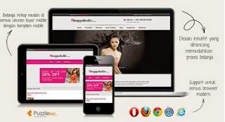 Shoppaholic - Responsive Blogger Template for Online Shop