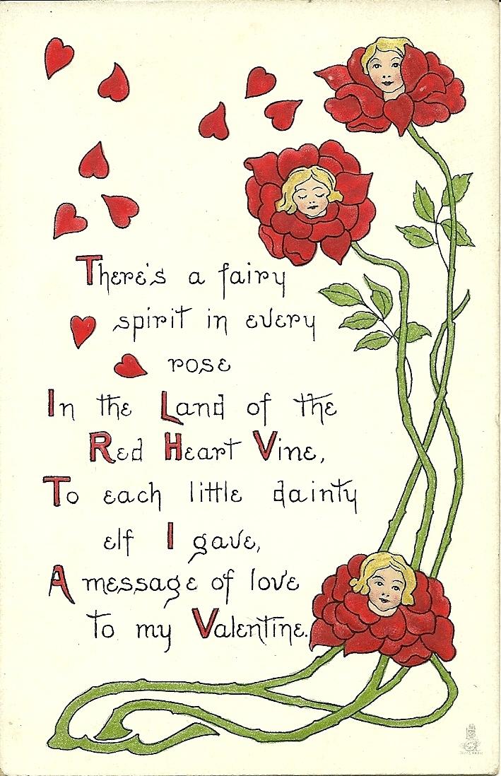 Vintage Rhymes And Valentines 45