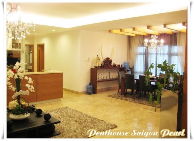 cho thuê căn hộ loại penthouse tại saigon pearl