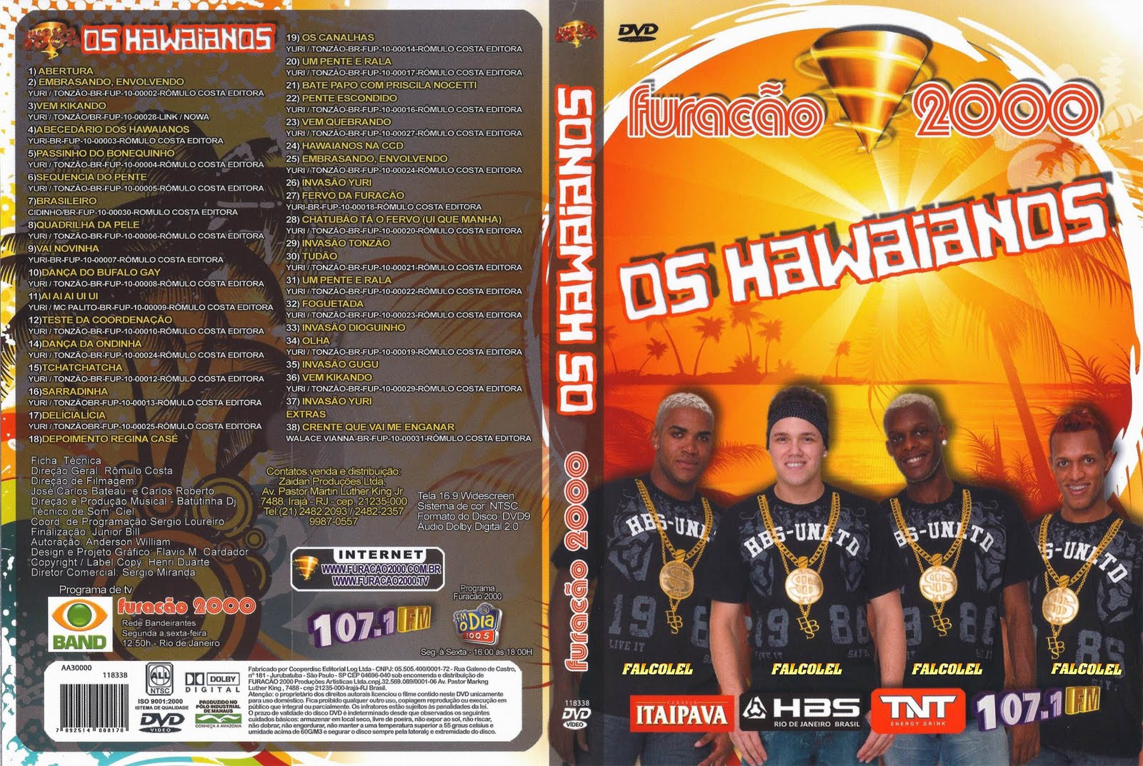 Os Hawaianos Furacão 2000 Ao Vivo DVDRip XviD 2010 FURACO 257E1