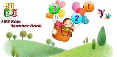 123 Kids Number Book
