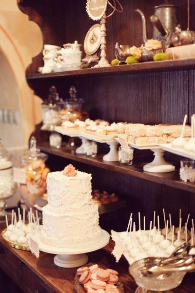 Wood Dessert Table ~ Miss lovie fall wedding ideas rustic dessert table
