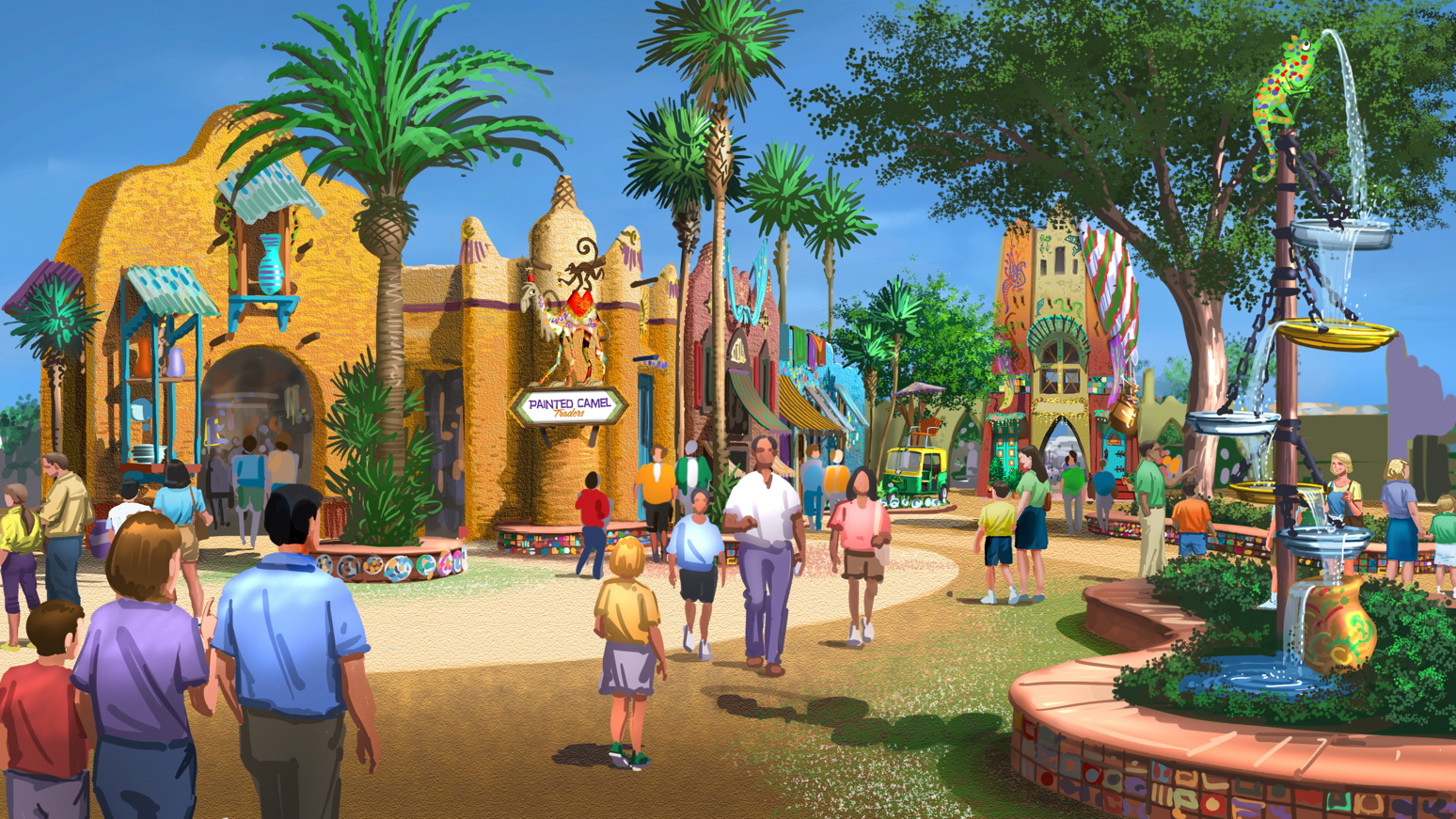 Newsplusnotes New Themed Area Announced At Busch Gardens Tampa