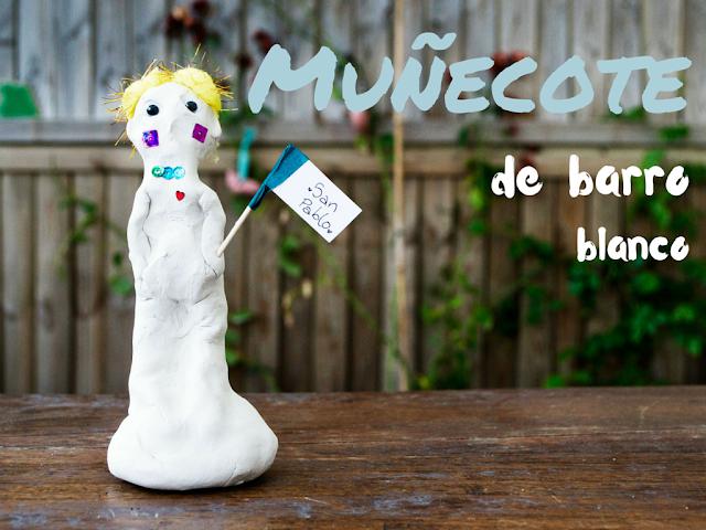 pigs-and-roses-san-pablo-diy-muñecote-barro-blanco-estatue-white-clay