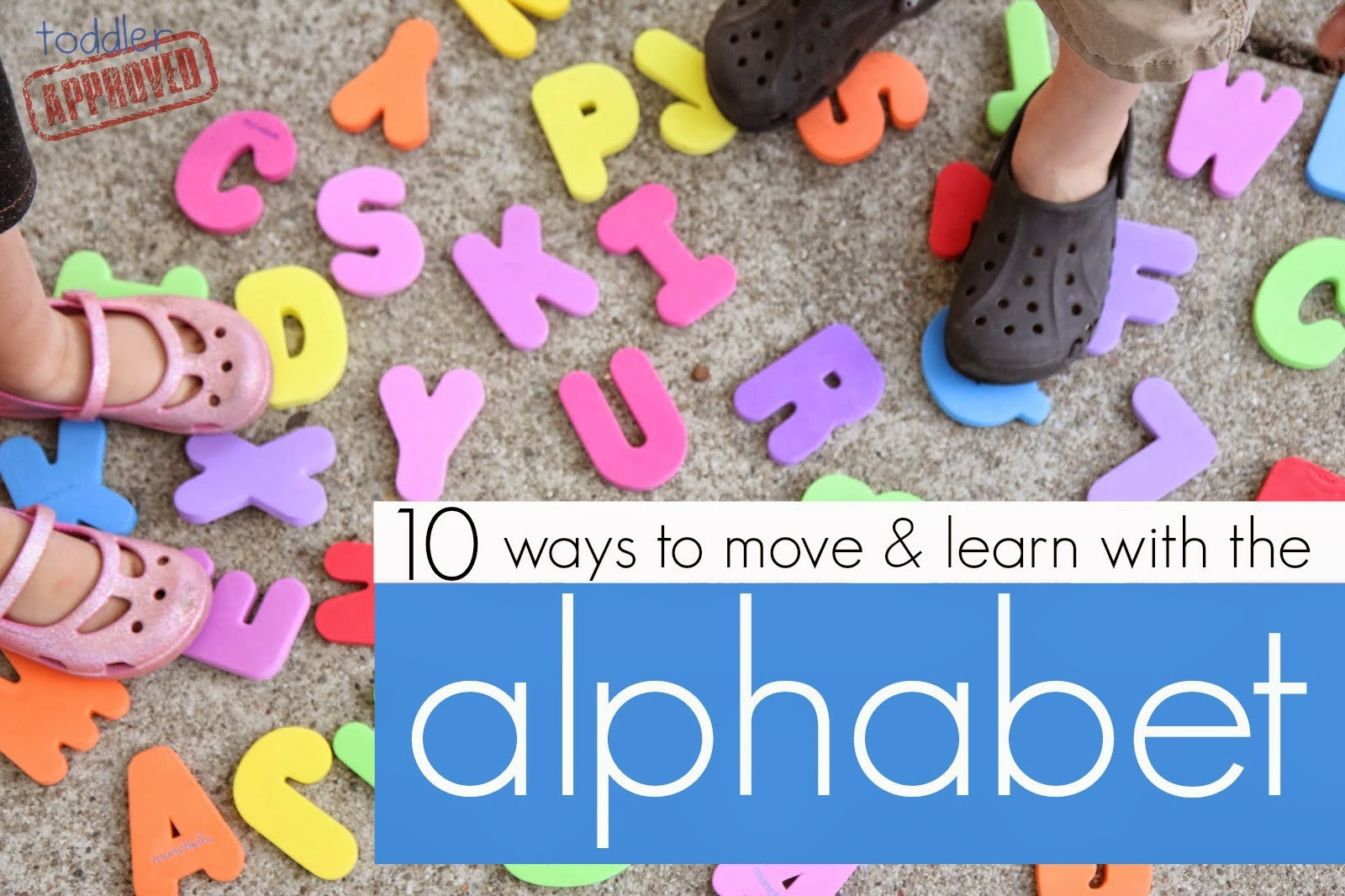 Move It Alphabet Family Fun - Move your Body and learn ...