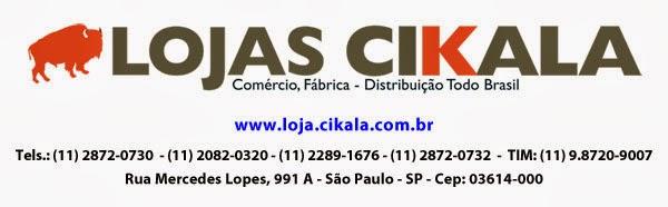 Cikala Comércio e Serviços Ltda. Atendemos todo Brasil.