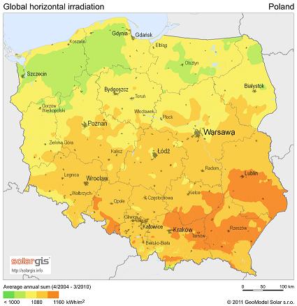 Poland solar