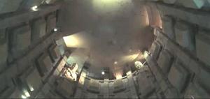 fotograma de la película Blade: El Templo de la Noche Eterna, donde se realiza el ritual vampírico final