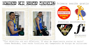 Entrenamiento personal, desde 10€/sesión, con Chema Menéndez