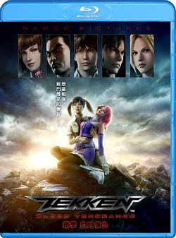 Filme Poster Tekken: Blood Vengeance BRRip XviD & RMVB Legendado
