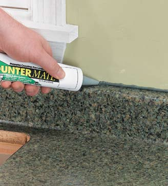Countertop Not Long Enough : Seal the seam between the backsplash and the wall with silicone caulk ...
