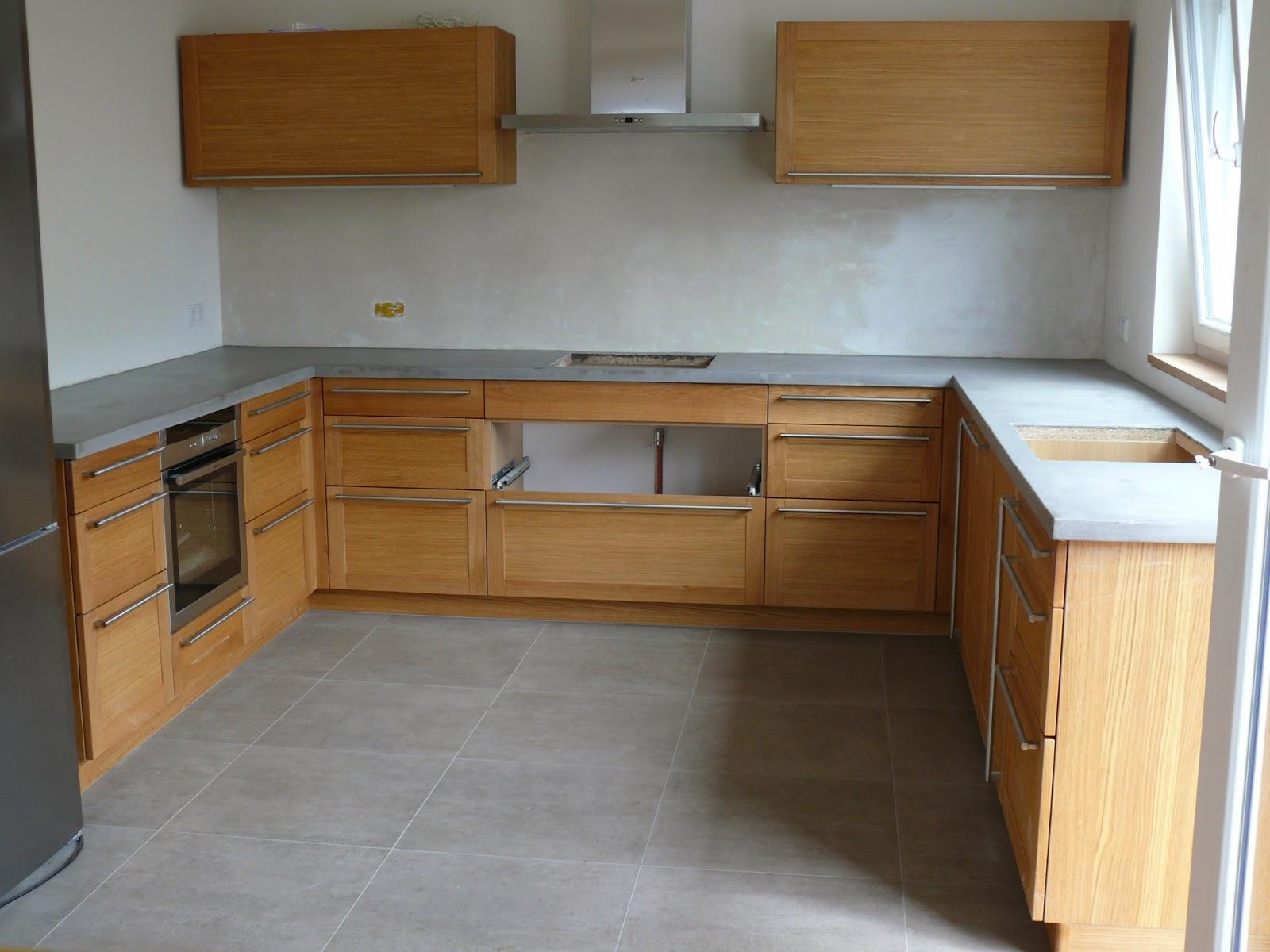 Beton Holz Küche