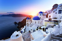 Best Honeymoon Destinations In Europe - Santorini, Greece
