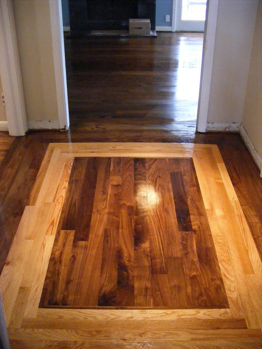 De lago grundl hardwood floors custom american walnut and for Custom hardwood flooring