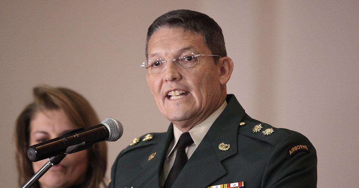 Brigadier General Ruben Darío Alzate