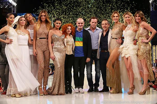 Moda Look Buenos Aires primavera verano 2014 Diseñadores argentinos.
