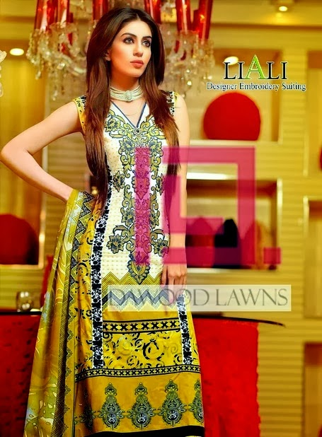 Liali Designer Embroidered Spring
