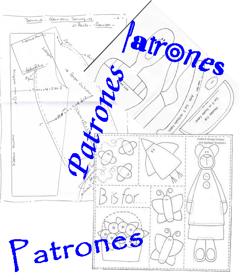 Haciendo patchwork patrones para descargar - Patchwork en casa patrones ...