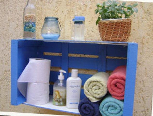 Palleteando reciclado de cajones for Diseno de muebles con cajones de verduras