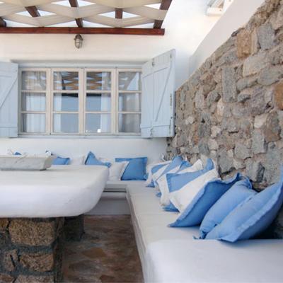 Estilo rustico casas rusticas griegas for Casas en islas griegas