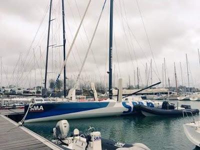 SMA a enfin retrouvé son port de Port La Foret