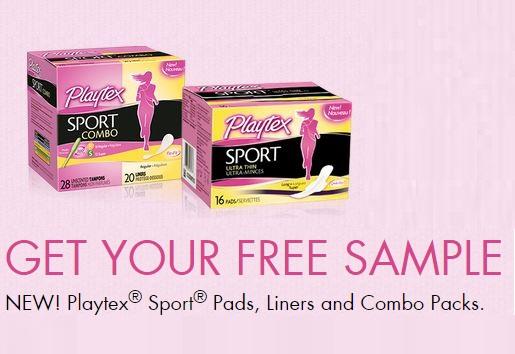 Coupons And Freebies: Free Playtex Tampons + Pad/Liner Sample Kit