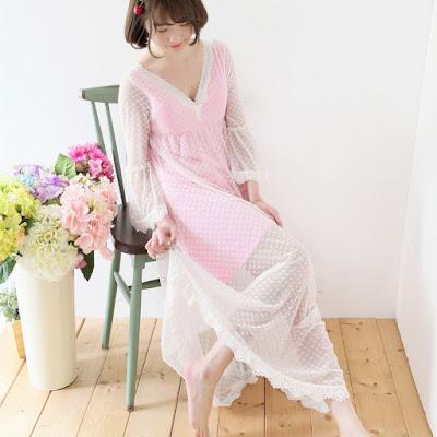 Model Baju Tidur Wanita Bahan Sutra