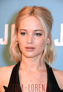 Jennifer Lawrence Photo in Dior Black Couture Dress
