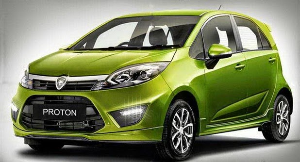 New Proton car, Iriz photos revealed! - TheHive.Asia
