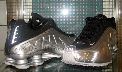 Nike Shox R4 Black And Silver