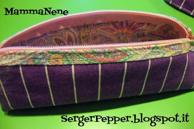 Serger Pepper- mini Sew-A-Long pencil-case