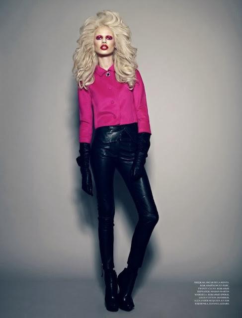 Fetish Inspirations : Model Masha Kirsanova By Photographer Cate Underwood