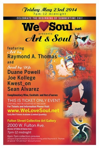 Fri 5/23: We Love Soul presents Art & Soul